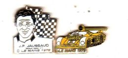 Pin's 24 Heures Du Mans 1978 J.P Jaussaud Renault Alpine EGF  EMC - Pin's