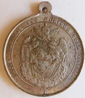 Médaille Mort Du Pape PIE IX Le Pape Infaillible. 7 Février 1878 - Religion &  Esoterik