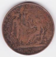 Jeton Centenaire De 1789 Exposition Universelle Paris - Régie Des Monnaies, Par Barre - Professionnels / De Société