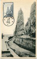 BELGIQUE CARTE MAXIMUM DU N°294 ROCHER BAYARD A DINANT AVEC OBLITERATION DINANT 4 VII 1930 - Maximum Cards