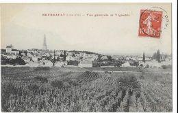 MEURSAULT: Vue Générale Et Vignoble - Meursault