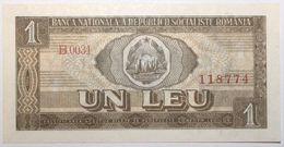 Roumanie - 1 Leu - 1966 - PICK 91a - NEUF - Rumänien