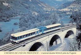 Le Fugeret Train Nice Entrevaux Annot Digne Chemins De Fer De Provence - Andere Gemeenten