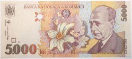 Roumanie - 5000 Lei - 1998 - PICK 107b - NEUF - Rumänien