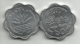Bangladesh 10  Poisha 1974.  High Grade FAO - Bangladesh