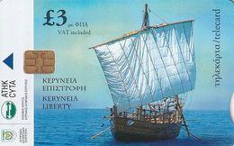 CYPRUS - Keryneia Liberty, Tirage 3500, 10/03, Sample(no CN) - Bateaux