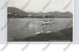 """BINNENSCHIFFE - RHEIN, Schaufelraddampfer """"JULIANA"""" Vor Königswinter, 1933 - Paquebots"""