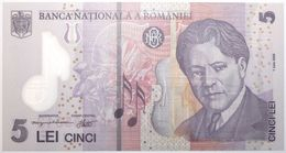 Roumanie - 5 Lei - 2014 - PICK 118g - NEUF - Rumänien