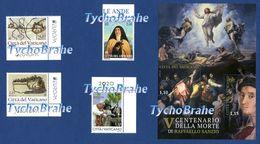 SET TERESA LOS ANDOS - EUROPA ANCIENT POSTAL ROUTES - YEAR PLANT HEALTH - RAFFAELLO - VATICAN Stamps MNH 23 June 2020 - Vatican