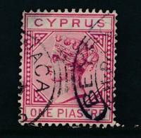 CYPRUS, Postmark BEYROUTH + LARNACA (SG33, Die II) - Chypre (...-1960)