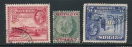 CYPRUS, Postmark LEFKA, LIMASSOL, FAMAGUSTA - Cyprus (...-1960)