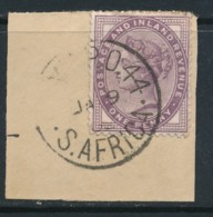 GB, Postmark POSTMARK ARMY PO 44 S.AFRICA Used Abroad On 1D LILAC - Oblitérés