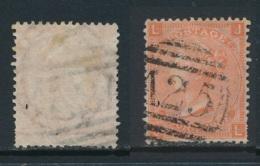MALTA, Postmark A25 Used Abroad On GB 4D PLATE 12 - Malte (...-1964)