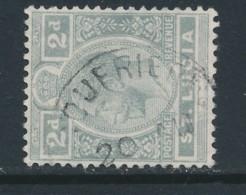 ST LUCIA, Postmark SOUFFRIERE - Ste Lucie (...-1978)