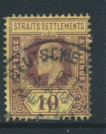 STRAITS SETTLEMENTS, GERMAN MARITIME Postmark DEUTSCHE SCHIFFSPOST - Straits Settlements