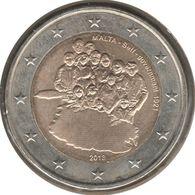 MA20013.1 - MALTE - 2 Euros Commémo. Constitution Gouvernement 1921 - 2013 - Malta