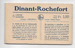 "Dinant = Rochefort  6 CARTES  KAARTEN  Collection ""TRAIN-RADIO"" - Dinant"