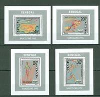Senegal, Olympiade 1992, Bl.72-75** - Ete 1992: Barcelone