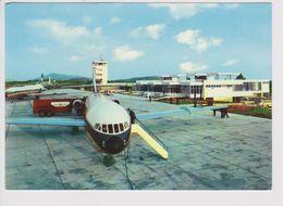 Vintage Rppc Jat Caravelle Aircraft @ Dubrovnik Airport - 1919-1938: Fra Le Due Guerre