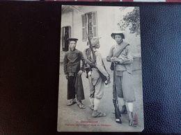 A2:COCHINCHINE-tiralleurs Annamites En Tenue De Campagne - Vietnam