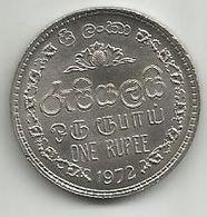 Sri Lanka 1 Rupee 1972. High Grade - Sri Lanka