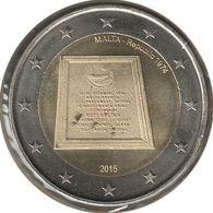 MA20015.2 - MALTE - 2 Euros Commémo. République De Malte 1974 - 2015 - Malta