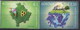 2016 Kosovo  Mi. 338-9 **MNH Europa : Think Green - 2016