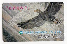 TELECARTE JAPON  MOSAIQUE AIGLE - Japon