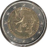 MO20013.1 - MONACO - 2 Euros Commémo. Admission à L'ONU - 2013 - Monaco