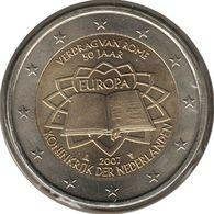 PB20007.1 - PAYS-BAS - 2 Euros Commémo. Traité De Rome - 2007 - Pays-Bas