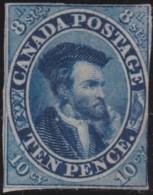 Canada    .    SG   .   14   .  Wove Thin Paper  (2 Scans)      .     (*)    .   No Gum .   /   .  Pas De Gomme - Ungebraucht