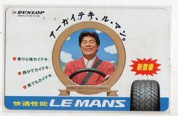 TELECARTE JAPON DUNLOP LE MANS - Advertising