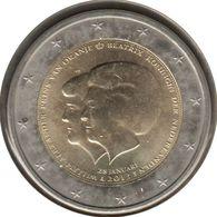 PB20013.1 - PAYS-BAS - 2 Euros Commémo. Beatrix Et Willem Alexander - 2013 - Pays-Bas