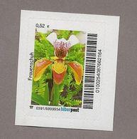 BRD - Privatpost - Biberpost - Blumen - Orchidee - Frauenschuh (Cypripedium)  Blüte - Orchideen