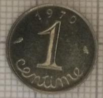 1 Centimes, 1970. France. épi.TTB - France