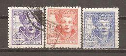 España/Spain-(usado) - Edifil  954-56 - Yvert  712-14 (o) - 1931-Aujourd'hui: II. République - ....Juan Carlos I