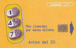 GUATEMALA - 147 Mas Llamadas Por Menos Billetes, Chip GEM3.3, Used - Guatemala