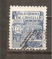 España/Spain-(usado) - Edifil  982 - Yvert  738 (o) - 1931-50 Usati