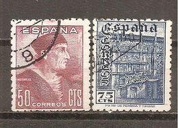 España/Spain-(usado) - Edifil  1002-03 - Yvert  752-53 (o) - 1931-Aujourd'hui: II. République - ....Juan Carlos I