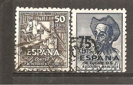 España/Spain-(usado) - Edifil  1012-13 - Yvert  759-60 (o) - 1931-Aujourd'hui: II. République - ....Juan Carlos I