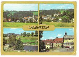 8246  LAUENSTEIN (Kr. DIPPOLDISWALDE) - MEHRBILD   1985 - Schellerhau