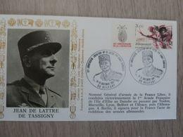 JEAN DE LATTRE DE TASSIGNY(1889-1952) Général - Débarquement - Libération - Editions AMIS - Année 1984 - - Oblitérés