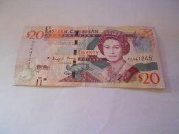 EASTERN  CARIBBEAN  20  DOLLARS  BILLET - Caraibi Orientale