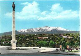 Giarre - Piazza Immacolata - Veduta Dell'Etna - Catania - H6171 - Catania