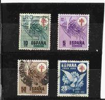 AÑO 1950 ESPAÑA Nº 1084/ 87 - 1931-Oggi: 2. Rep. - ... Juan Carlos I