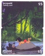 Disney $5, LDPH,  2 Prepaid Calling Cards, PROBABLY FAKE, # Fd-20 - Puzzles