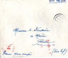 C4    1941 Lettre  D'un LEGIONNAIRE DE LA L.V.F Sans Courrier - Guerre De 1939-45