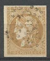 BORDEAUX N° 43A OBL - 1870 Uitgave Van Bordeaux