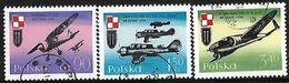 POLAND - 1971 Polish War Planes - 1944-.... Republic