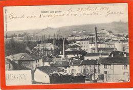 CPA - D02 -  REGNY - ( Aisne ) -  Oblitéré 1904 -  Vue  Du  Village  Coté  Gauche - - Other Municipalities